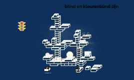 blind en kleureblind zijn