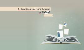 L'epica francese e la Chanson de Roland