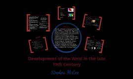 Development of the West in the late 19th Century