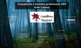 Copy of Consultoria a Instituto  profesional AIEP Calama