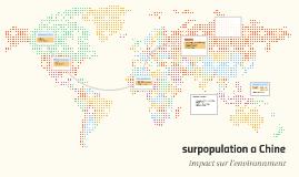 Copy of surpopulation a Chine