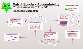 Dati di Scuola e Accountability