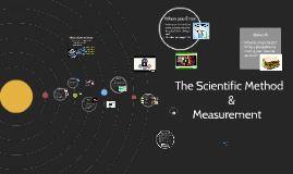 Scientific Method and Measurement