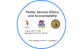 Copy of Public Service Ethics and Accountability
