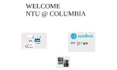 Welcome NTU @ Columbia