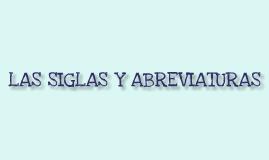 Copy of Las siglas y la abreviaturas