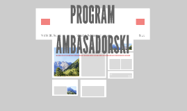 PROGRAM AMBASADORSKI