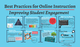 BP for Online Instruction: Improving Student Engagement