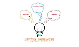 Statics Homework