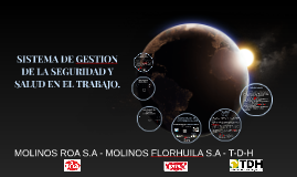 Copy of SISTEMA DE GESTION DE LA SEGURIDAD Y SALUD EN EL TRABAJO.