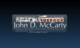 Copy of John D. McCarty's Digital Resume