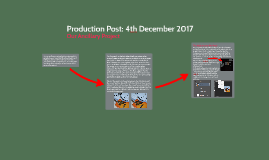 Production Post: 4th December 2017