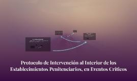Protocolo de Intervención al Interior de los Establecimiento
