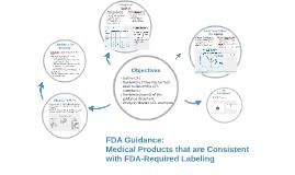 FDA Guidance: