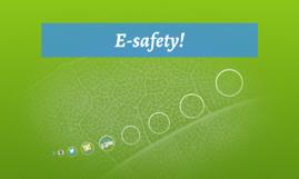 E-safety!