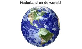 Nederland en de wereld
