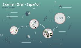 Examen Oral - Español