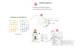 Copy of Copy of Copy of Matemáticas simbolos