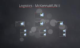 Logistics - McKennaMUN II