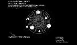ENTROPÍA Y EL UNIVERSO