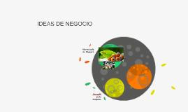 Copy of IDEAS DE NEGOCIO