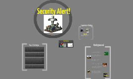 Security Alert!