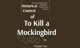To Kill a Mockingbird Introduction & Historical Context