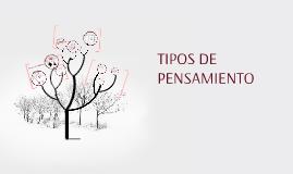 Copy of Copy of TIPOS DE PENSAMIENTO