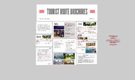 TOURIST ROUTE BROCHURES