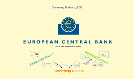 Governing Bodies of the ECB