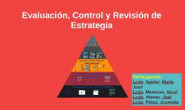 Copy of Evaluación, Control y Revisión de Estrategia