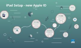 Cannon MS - iPads Setup - new Apple ID