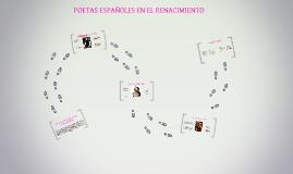Copy of POETAS ESPAÑOLES EN EL RENACIMIENTO