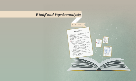 Woolf and Psychoanalysis