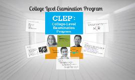 CLEP Presentation