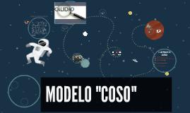 """MODELO """"COSO"""""""