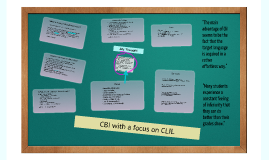 CBI & CLIL
