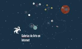 Galerias de Arte en Internet