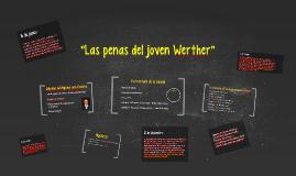 """""""Las penas del joven Werther"""""""