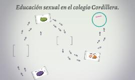 Educación sexual en el colegio Cordillera.