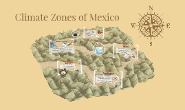 Climate Zones of Mexico