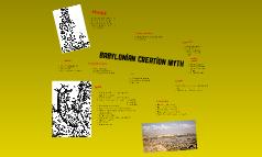 Babylonian Creation Myth