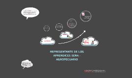 REPRESENTANTE DE LOS APRENDICES SENA - AGROPECUARIO