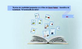 CAST. Tècniques de creativitat proposades en el llibre de Gianni R