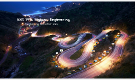 Copy of KNS 3496 Highway Engineering