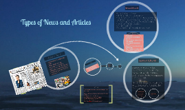 Types of News and Articles