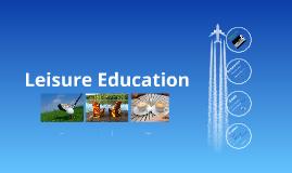 Leisure Education