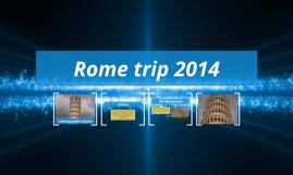 Rome trip 2014