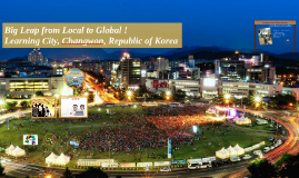 Copy of Changwon City Learning City for the elderly Policies #