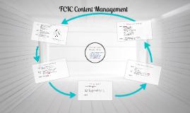 FCIC Content Management